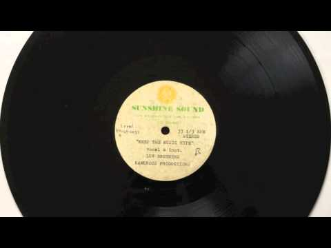 Luv Brothers   Keep the Music Hype (Sunshine Sound Acetate 1990) unreleased