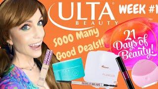 Ulta 21 Days Of Beauty Week 1 Skincare Fridge Foreo Luna Mini Tarte Shape Tape More Youtube