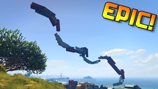 3 Races! Military Base Fence Wallride + Triple Wallride + Rollercoaster - Funny Moments With Ouch!