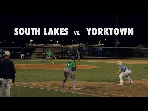 Varsity Baseball: South Lakes at Yorktown 2017