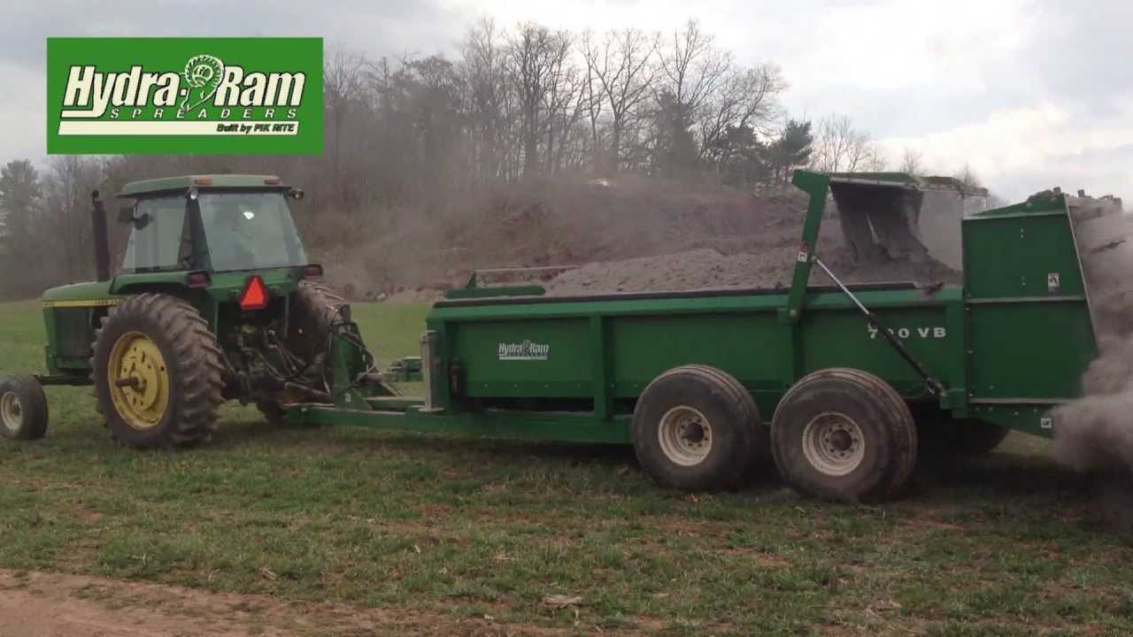 hydra manure spread spreader