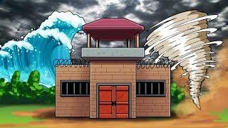 Roblox - TSUNAMI WAVE CHALLENGE: Sicura sopravvivenza alla base! (Roblox Tsunami)