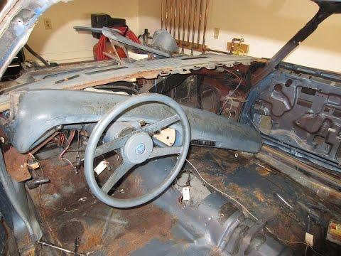 Removing The Upper Dash  77 Camaro Type LT Restomod Part 13