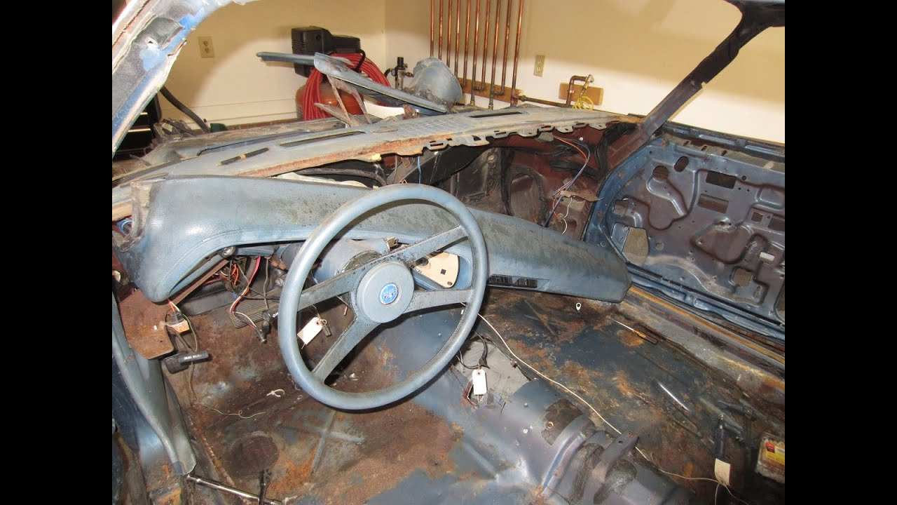 A Wiring Harness For 1968 Chevy Nova Removing The Upper Dash 77 Camaro Type Lt Restomod Part 13