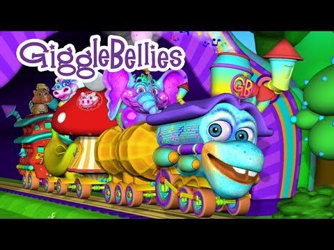 I've Been Working On The Railroad | Nursery Rhymes | GiggleBellies