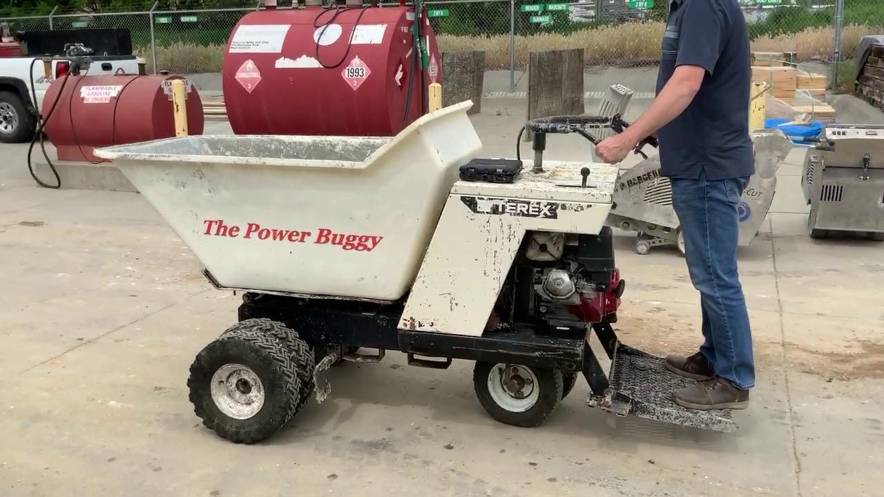 Terex PB08000203 Ride-On Power Buggy BigIron Auctions