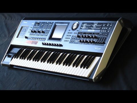 DEMO of the Roland V-Synth V2 - overview of sounds and factory patches