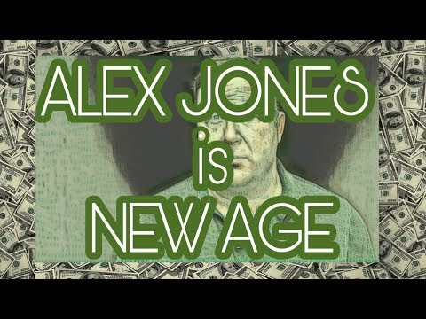 Alex Jones is NOT a Christian: New Age Deceiver Alex Jones Exposed