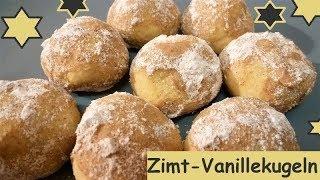Achtung Suchtgefahr: Zimt-Vanillekugeln und ganz schnell gemacht!