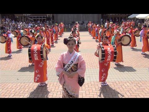 2019盛岡さんさ踊り 「ミスさんさ集団」2019-08-01