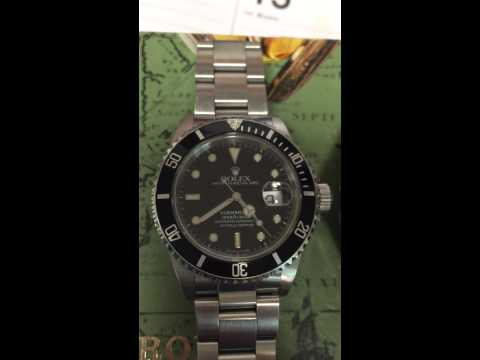 Rolex submariner date smooth sweep!!!!
