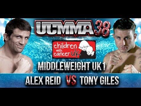 UCMMA 38 Alex Reid v Tony Giles fight