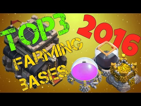 Top 3-Th9 Farming Base Anti Giant & Anti Loot Best Town Hall 9 Defense 2016 Clash Of Clans(Coc)