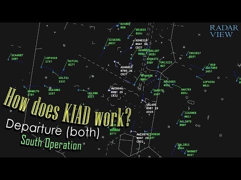 How does Washington-Dulles (Departures) work? | Departing 19s and 30