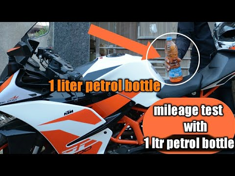 KTM RC 200 REAL MILEAGE TEST NEW MODEL 2017