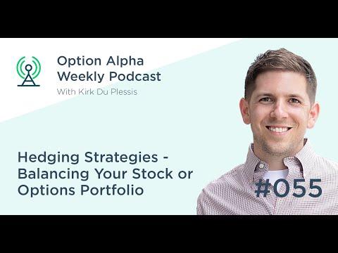 Hedging Strategies – Balancing Your Stock or Options Portfolio - Show #055