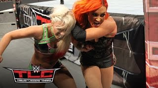 Alexa Bliss takes a bite out of Becky Lynch: WWE TLC 2016