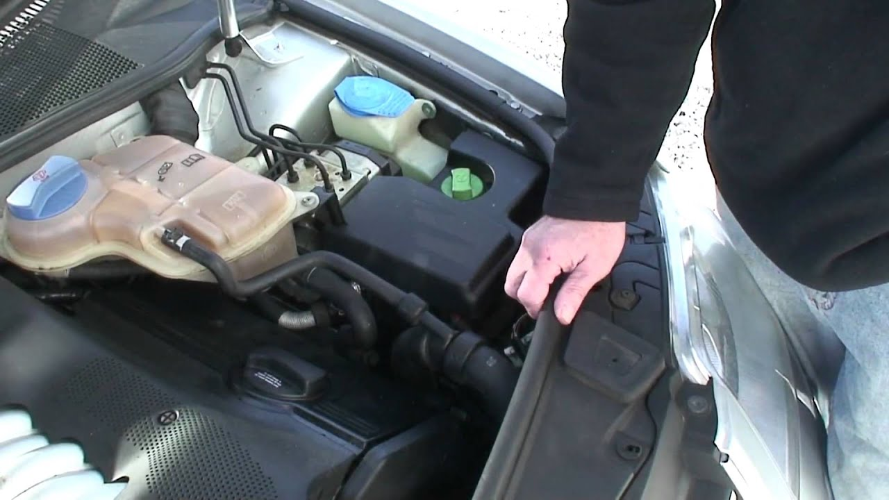 How To Find Locate Audi Oil Leaks and VW Oil Leaks YouTube