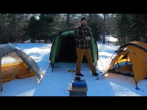 The Best Four Season C&ing Tent 2017 - Winter Temperature Challenge - Crua Tri & The Best Four Season Camping Tent 2017 - Winter Temperature ...
