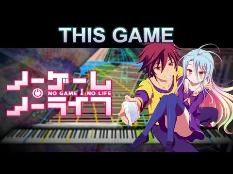 『Black MIDI』 Konomi Suzuki - This Game (No Game No Life OP) | W/ Rinnosuke And BedrockSolid
