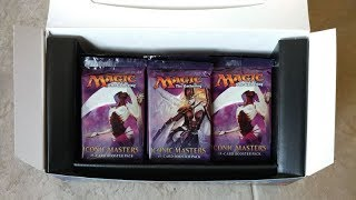 iconic masters booster box opening lets explore shall we