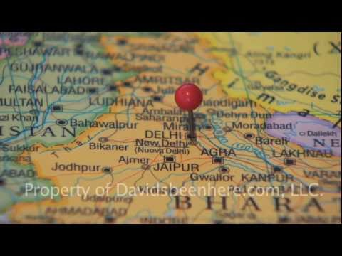 Delhi, India #14 Map India