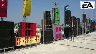 Demo Sound System penonton Meludaxx,,,, Pas Audio
