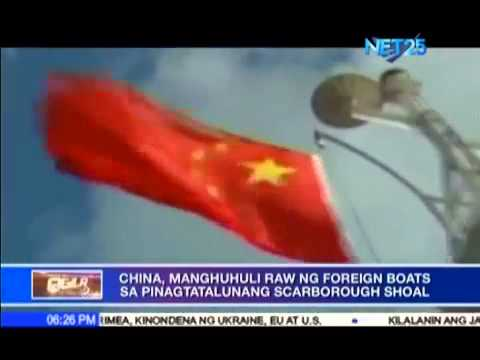 China will start arresting foreign boats in Scarborough Shoal