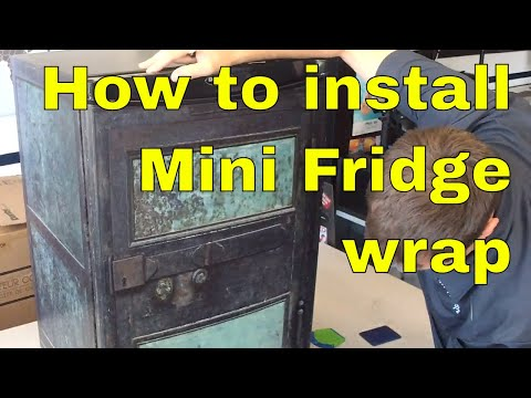 Mini Fridge wraps — Rm Wraps