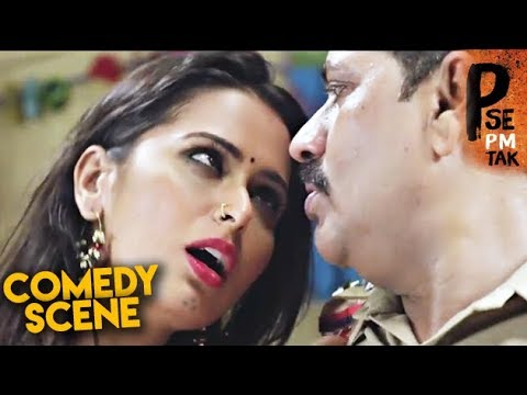 P Se Pm Tak Comedy   Hindi Movie  Meenakshi Dixit, Indrajeet Soni, Bharat Jadhav  HD 1080p