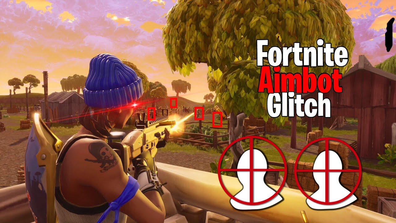 Fortnite Aimbot Glitch Ps4 December 2018 Youtube