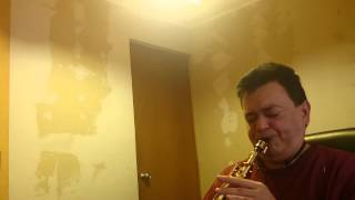 Sting Fragile. Testing Mouthpiece Marmaduke Vintage Soprano Sax