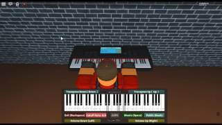 Sleeping at Last - Saturn by: Ryan O'Neal on a ROBLOX piano.