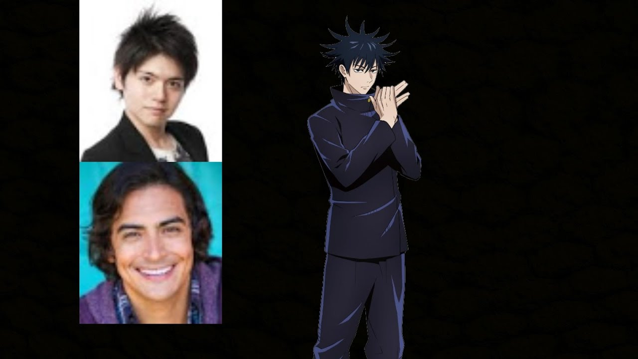 Anime Voice Comparison Megumi Fushiguro Jujutsu Kaisen Youtube