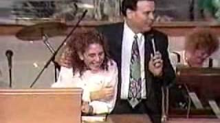 Allison Wards Amazing Baptism (Brownsville Revival)