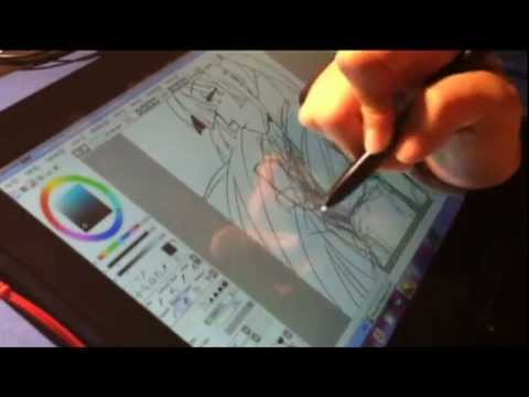 Speed Drawing On Samsung Series 7 Slate Paint Tool Sai