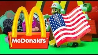 Top 5 American McDonalds Kids Happy Meal Toy Openings