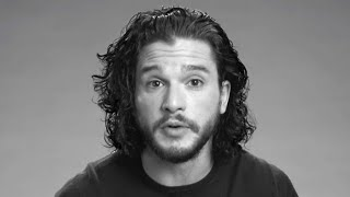 Kit Harington Had a Black Eye for His
