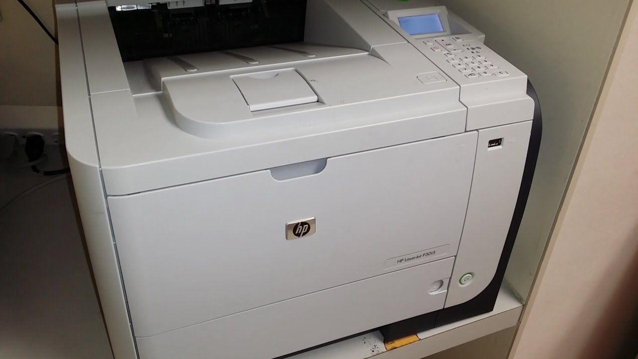 HP LaserJet P3011/P3015 PCL6 Treiber Windows XP