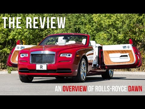An Overview of the 2016 Rolls-Royce Dawn in Ensign Red