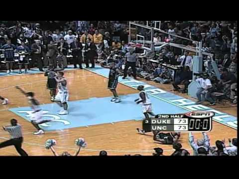 #4: February 3, 2000: #3 Duke 90, North Carolina 86 (OT)