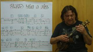 Fingerstyle UKULELE Lesson #117: SEALED WITH A KISS (Brian Hyland)