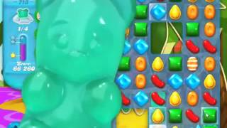 Candy Crush Soda Saga Level 713 - NO BOOSTERS