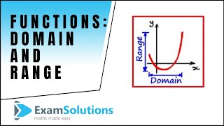 Functions : Domain - Range : tutorial 1 : ExamSolutions