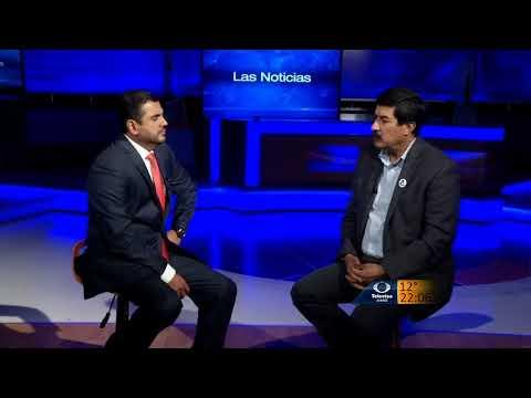 Entrevista con Héctor González en el Canal 2 de Televisa Juárez.