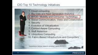 Webinar on Demand: BYOD Deep Dive presented by Presidio