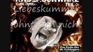 Frank Zander feat. Nina Hagen - Liebeskummer lohnt sich nicht