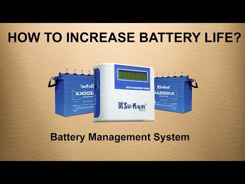 How to increase battery life? Battery management system (BMS)