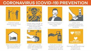 Four Things You Can Do to Stop the Spread of COVID-19