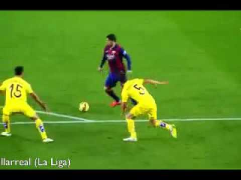 Lionel Messi's Top Goals all time...!!!